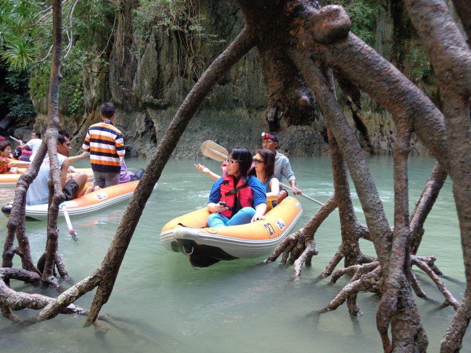 james bond island canoeing tour