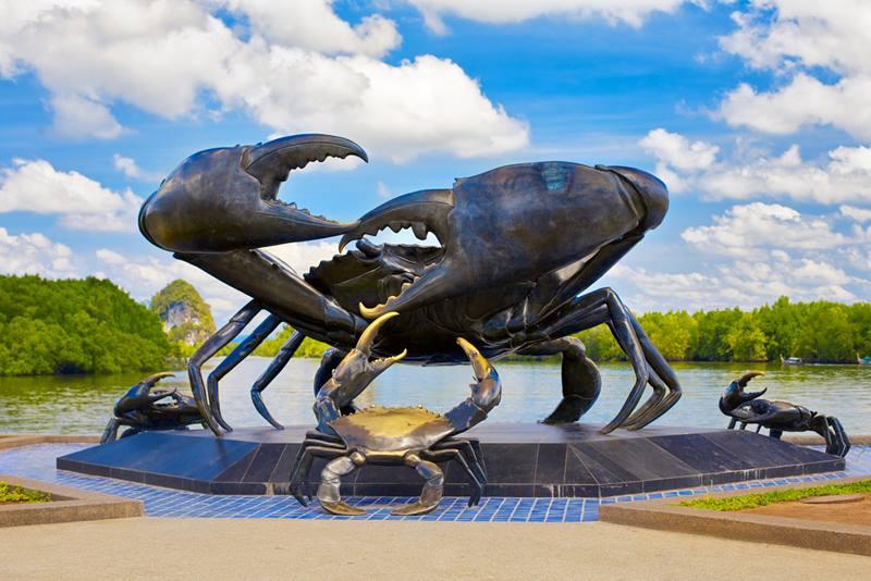 giant black crab krabi